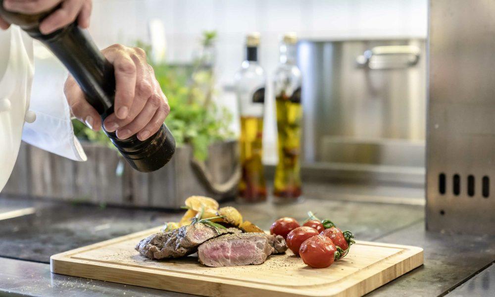 Restaurant Alter Wirt Weyarn Steak Medium